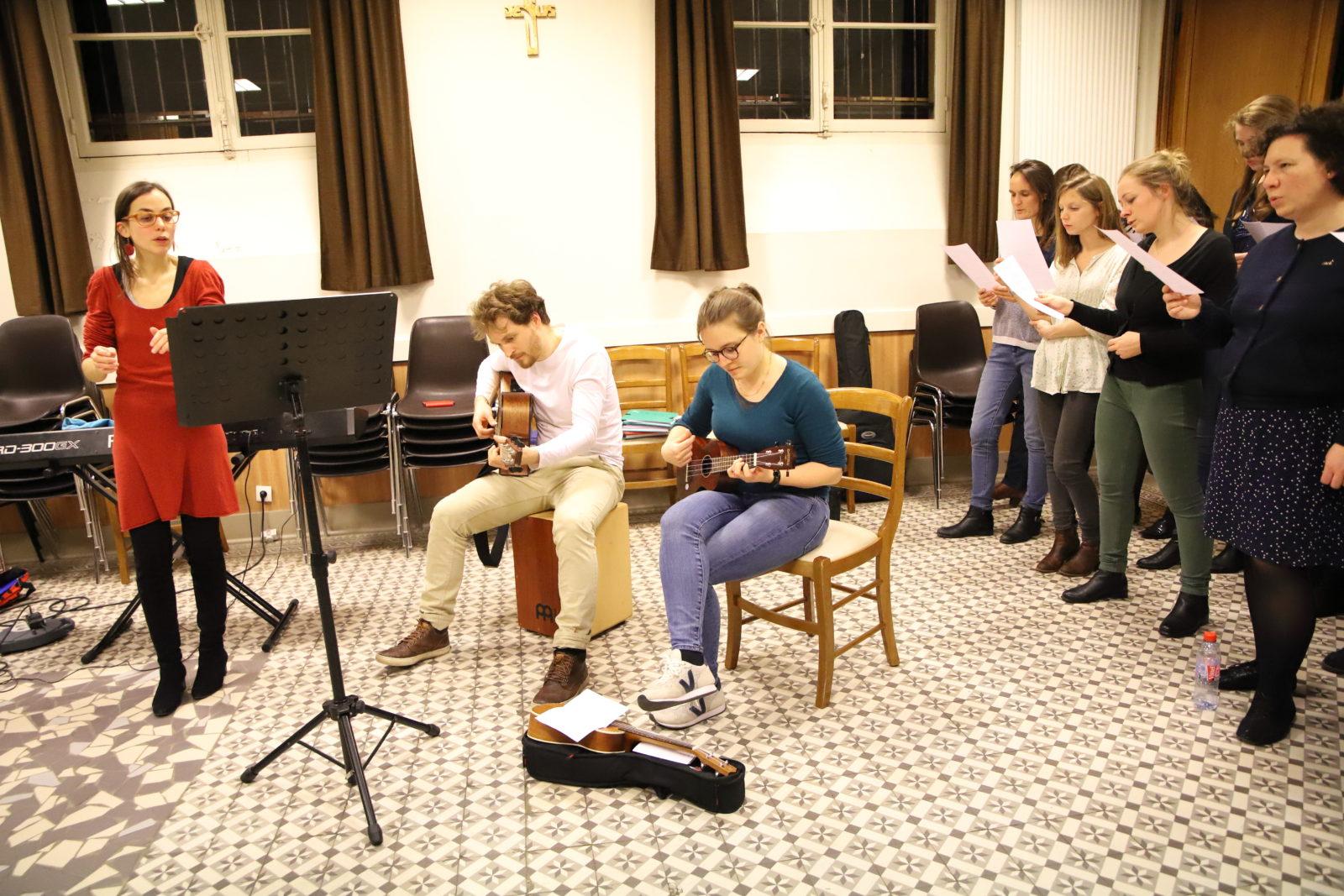 Concert Picpus'inging chorale