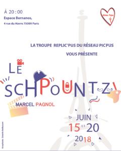 Réplic'Pus théâtre Le Schpountz